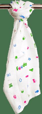 FEEDO Pielucha tetrowa, 100% bawełna, 1 szt., 70 x 70 cm