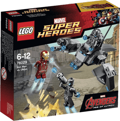 LEGO® Super Heroes Iron Man kontra Ultron