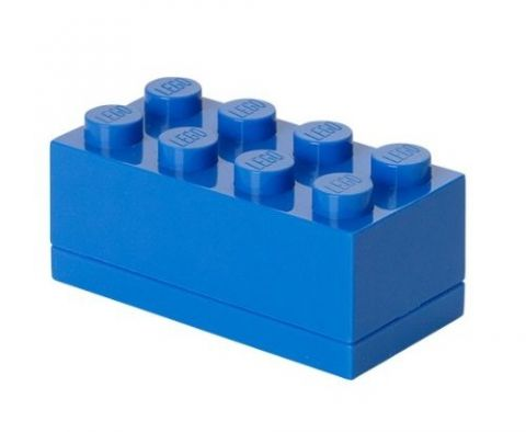 LEGO® Mini Box, modrá