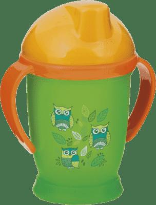 LOVI Hrnček nevylievajúci Hot&Cold 250 ml (12m+) - zelený