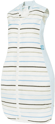 ERGOPOUCH Organic/Bamboo – Śpiwór Organic Cotton Blue Stripe 2-12 mies.