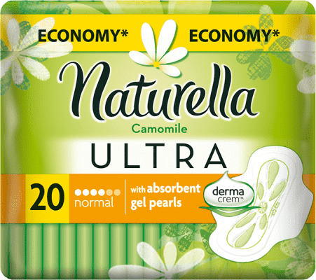 NATURELLA Camomile Ultra Normal, 20ks – vložky