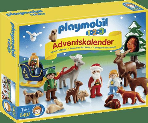PLAYMOBIL Adventný kalendár 1.2.3