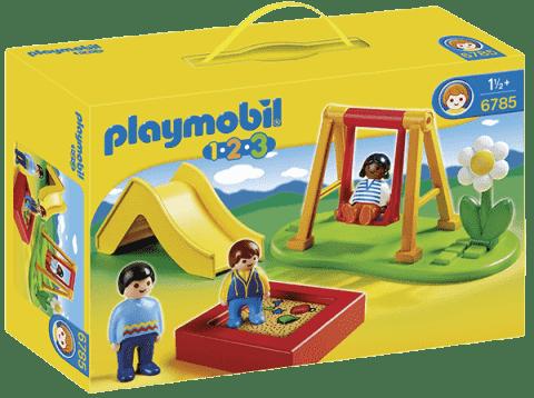 PLAYMOBIL Detské ihrisko (1.2.3)