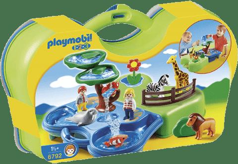 PLAYMOBIL Prenosný vodný kútik v ZOO (1.2.3.)