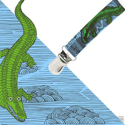 LULLALOVE ToGo Wielofunkcyjna zawieszka krokodyl