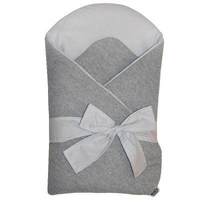EKO Zavinovačka z pleteniny Grey-Grey