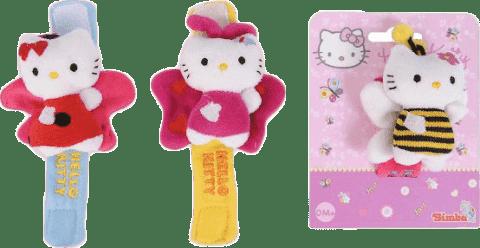 SIMBA Hello Kitty Hrkálka na ručičku, 3 druhy