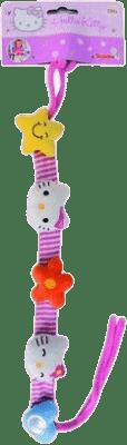 SIMBA Hello Kitty Řetízek na kočárek/autosedačku 40cm, látkový