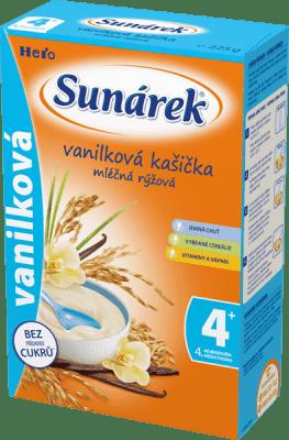 SUNÁREK Vanilková kašička (225 g) - mliečna kaša