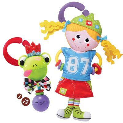 YOOKIDOO Zabawka maskotka - Księżniczka i Żaba