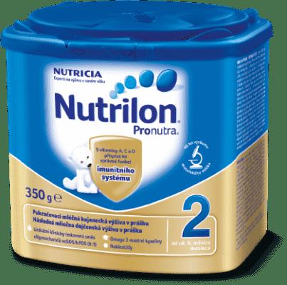 NUTRILON 2 ProNutra (350g) - kojenecké mléko