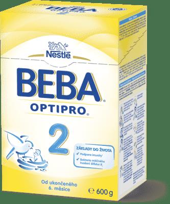 NESTLÉ BEBA 2 OPTIPRO (600 g) – dojčenské mlieko
