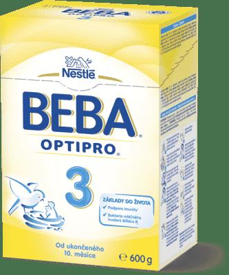 NESTLÉ BEBA 3 OPTIPRO (600 g) – dojčenské mlieko