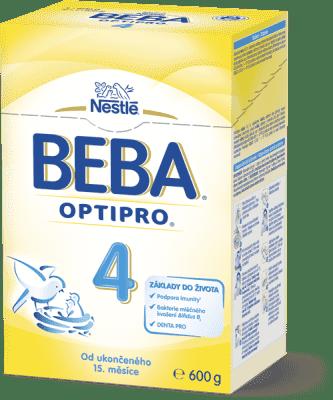 NESTLÉ BEBA 4 OPTIPRO (600 g) – dojčenské mlieko