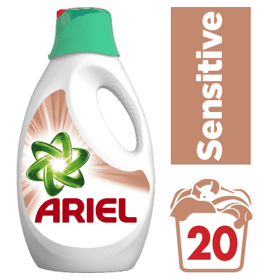 ARIEL Sensitive 1,3 l (20 dávok) - tekutý prací prostriedok