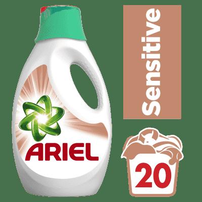 ARIEL Sensitive 1,3l (20 prań) - płyn do prania