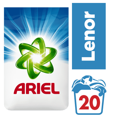 ARIEL Touch of Lenor Fresh 1,5 kg (20 dávek) - prací prášek