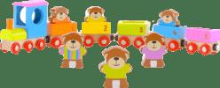 FIESTA CRAFTS Vláčik s medvedíkmi