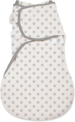 SUMMER INFANT Spací vak SwaddleMe šedé hvězdy