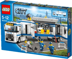 LEGO® City Police Mobilné policajnej stanice
