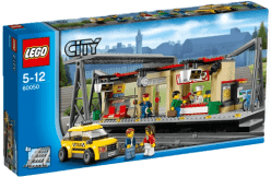 LEGO® City Trains Dworzec kolejowy