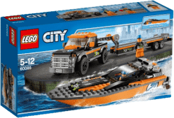 LEGO® City Great Vehicles Motorový člun 4x4