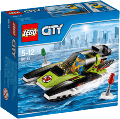 LEGO® City Great Vehicles Pretekársky čln