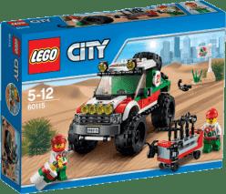 LEGO® City Great Vehicles Terénní vozidlo 4 x 4