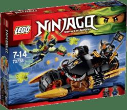 LEGO® Ninjago Výbušná motorka