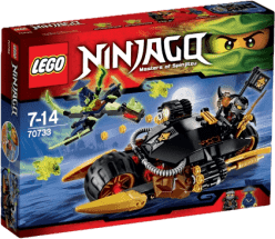 LEGO® Ninjago Motocykl Cole'a