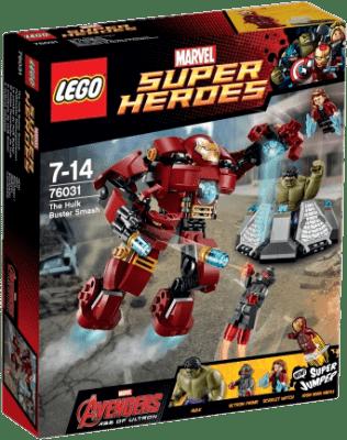 LEGO® Super Heroes Hulk: pancéřový úder