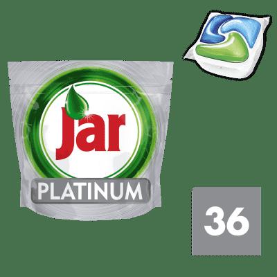 JAR Platinum Green 36ks - kapsle do myčky