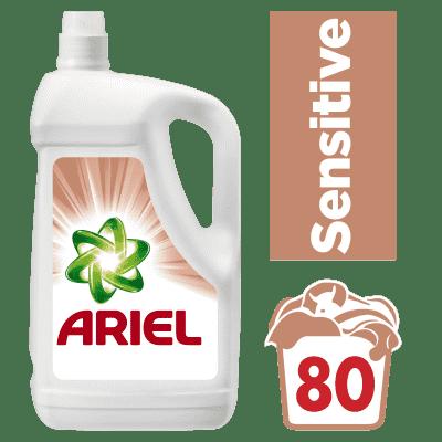 ARIEL Sensitive 5,2 L (80 dávok) - prací gél