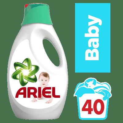 ARIEL Baby 2,6 l (40 dávok) - tekutý prací prostriedok