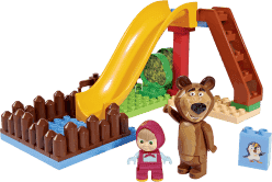 BIG Bloxx Masza i Niedźwiedź – Pool Fun