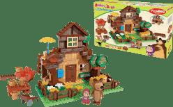 BIG Bloxx Máša a medvěd – Míšův dům