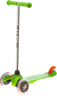 MICRO Mini kolobežka, zelená