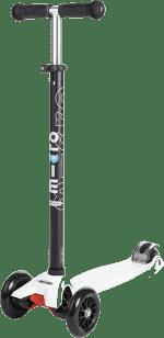 MICRO Maxi T-bar kolobežka, biela