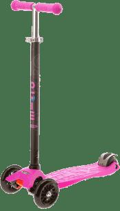MICRO Maxi T-bar kolobežka, ružová