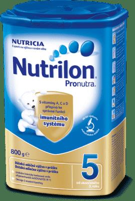 NUTRILON 5 ProNutra (800 g) - dojčenské mlieko