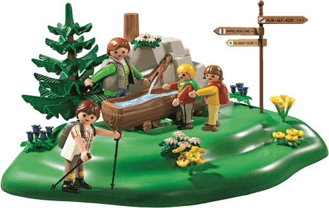 PLAYMOBIL Rodzinny spacer do strumyka
