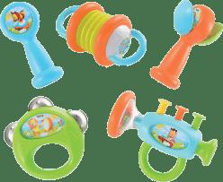 SMOBY Cotoons Zestaw instrumentów muzycznych 5 szt.