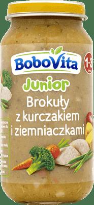 BOBOVITA Brokuły z kurczakiem i ziemniaczkami (250g)