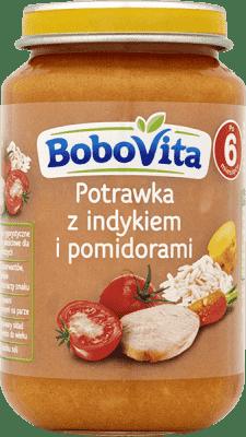 BOBOVITA Potrawka z indykiem i pomidorami 6m+ (190 g)
