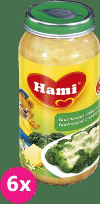 6x HAMI gratinovaná brokolice se sýrem (250 g) - zeleninový příkrm