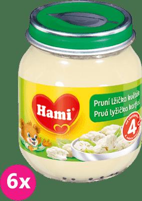 6x HAMI Prvá lyžička karfiol (125 g) - zeleninový príkrm