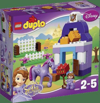 LEGO® DUPLO® Księżniczka Sofia I – Królewska stajnia