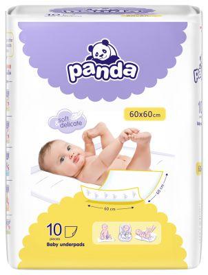 BELLA PANDA – jednorazové prebaľovacie podložky (10 ks)