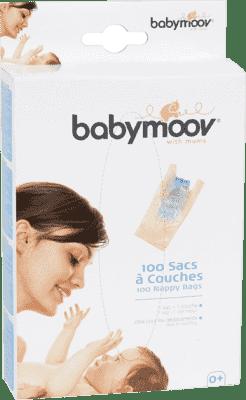 BABYMOOV Woreczki na zużyte pieluszki 100 szt.